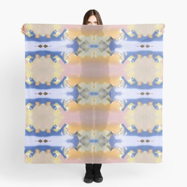 #Illustration, #painting, #water, #art, outdoors, creativity, blur, day,  motion, imagination Scarf
