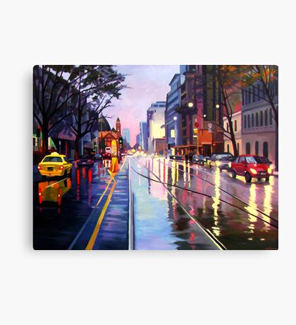 Flinders Street Canvas Print