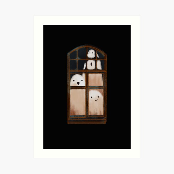 LITTLE GHOSTS Art Print