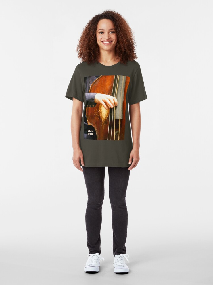 Alternate view of Chis Wood--Basshand Slim Fit T-Shirt