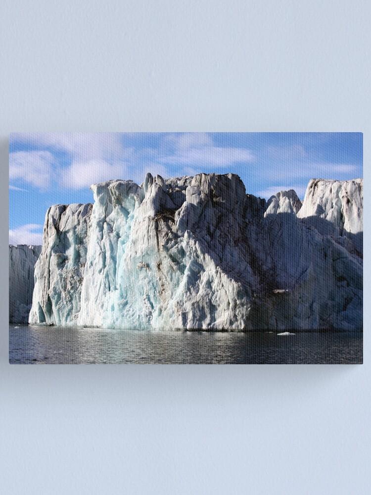 Alternate view of The Glaciers Edge Canvas Print