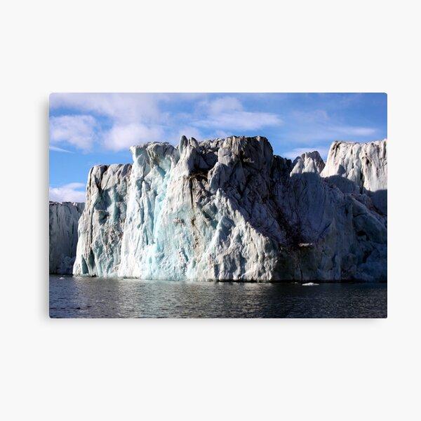 The Glaciers Edge Canvas Print