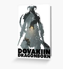 Dovakiin/Dragonborn Art Decal Greeting Card