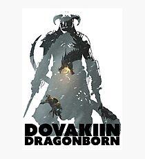 Dovakiin/Dragonborn Art Decal Photographic Print