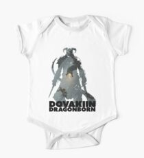 Dovakiin/Dragonborn Art Decal One Piece - Short Sleeve