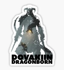 Dovakiin/Dragonborn Art Decal Sticker