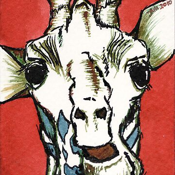 Talking Giraffe by anissa147