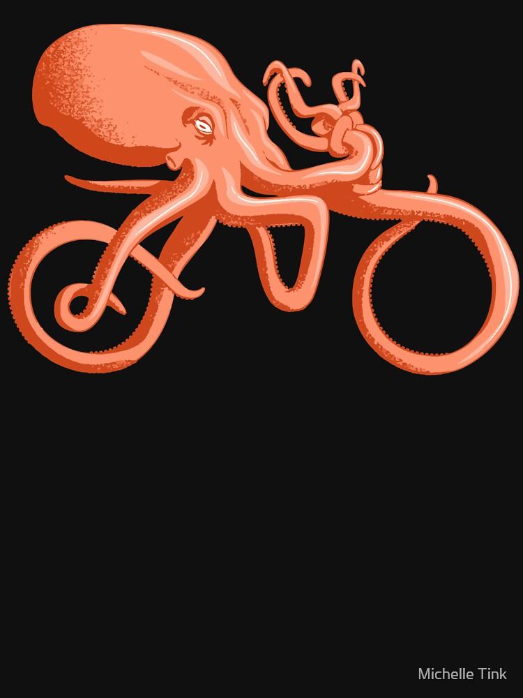 Radsport Oktopus - Tentakel Fahrrad - Kraken Mythos - Radfahrer - Fahrrad von ingeniusproduct
