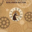 No1068 Mein neugieriger Fall von Benjamin Button minimales Filmplakat von ChungKong Art