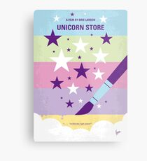 No1069 My Unicorn Store minimales Filmplakat Metallbild