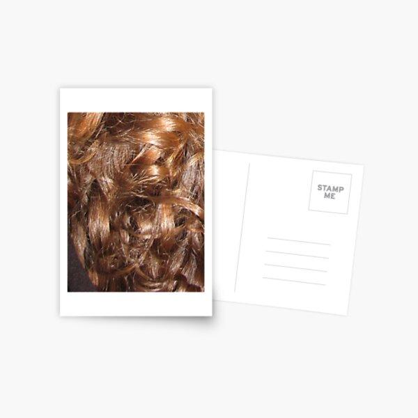 Hairscape - Shiny Auburn Hair Postcard