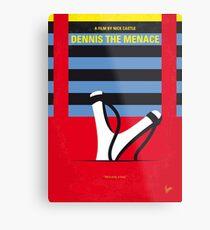 No1073 Mein Dennis the Menace minimales Filmplakat Metallbild