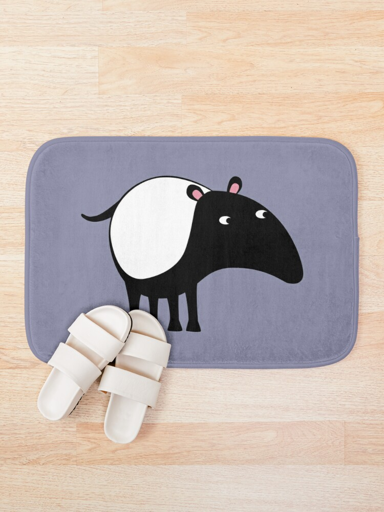Alternate view of Malayan Tapir Bath Mat