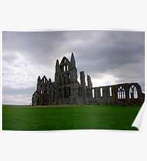 Whitby Abbey #4 Poster