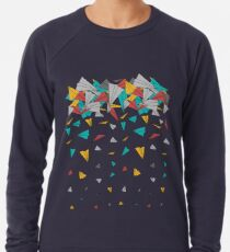 Flying paper planes  Leichter Pullover