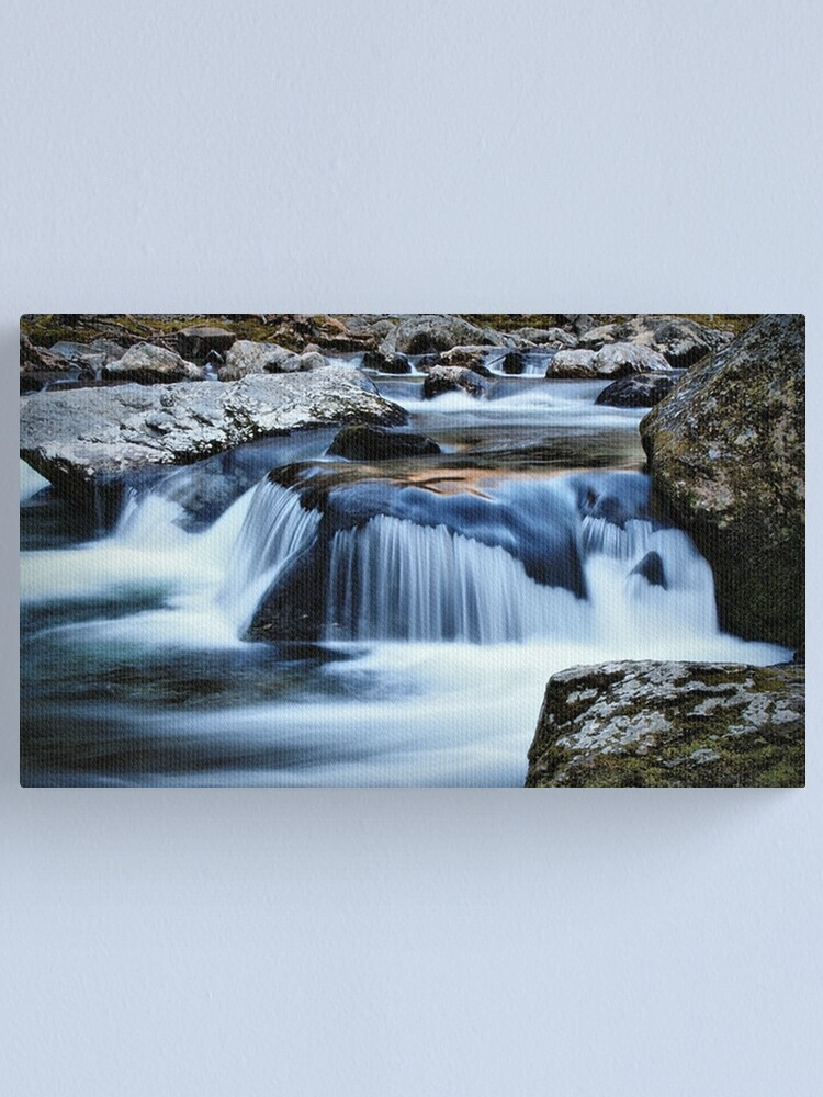 Alternate view of The Pigeon River Canvas Print