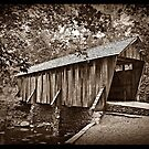 The Pisgah Covered Bridge by Christine Annas