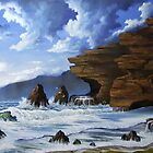 CAVE BEACH. by john cocoris