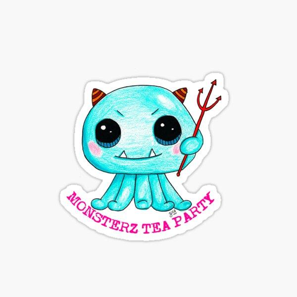 Cute Lil 'Monster Sticker