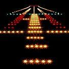 «Luces de la pista en la noche» de monsterplanet
