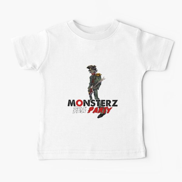 Monsterz Tea Party by Legoya & Nhell Baby T-Shirt