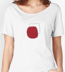 square...red Women's Relaxed Fit T-Shirt