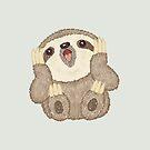 Surprised Sloth by Toru Sanogawa