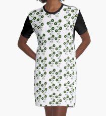 Art Nouveau - Going Green!  Graphic T-Shirt Dress