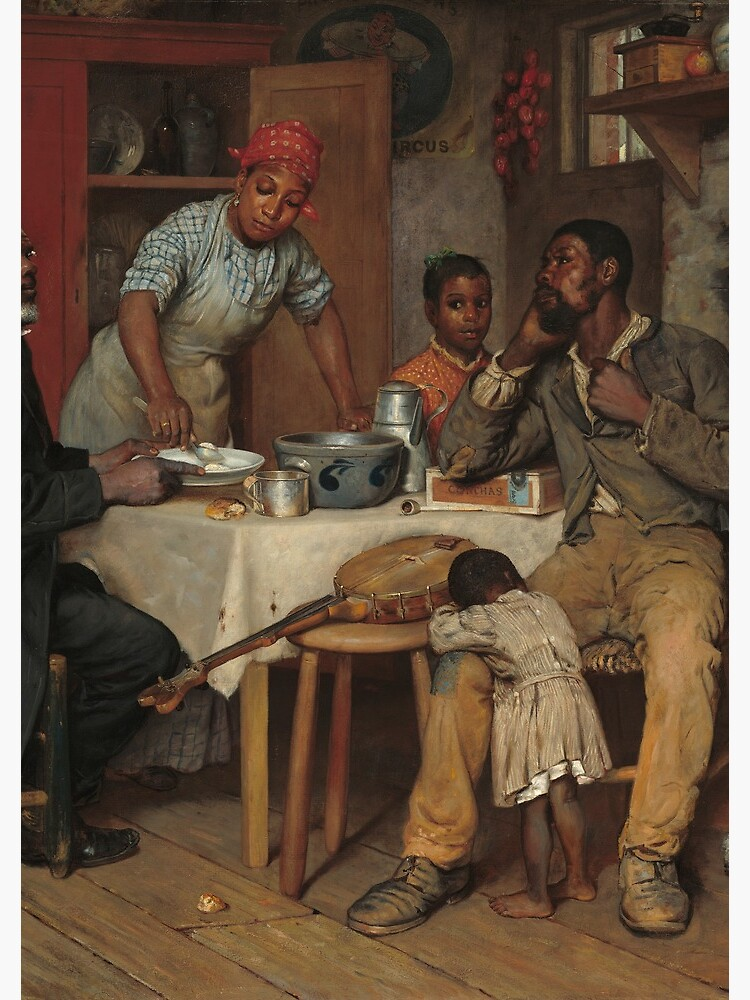 A Pastoral Visit Oil Painting by Richard Norris Brooke by podartist