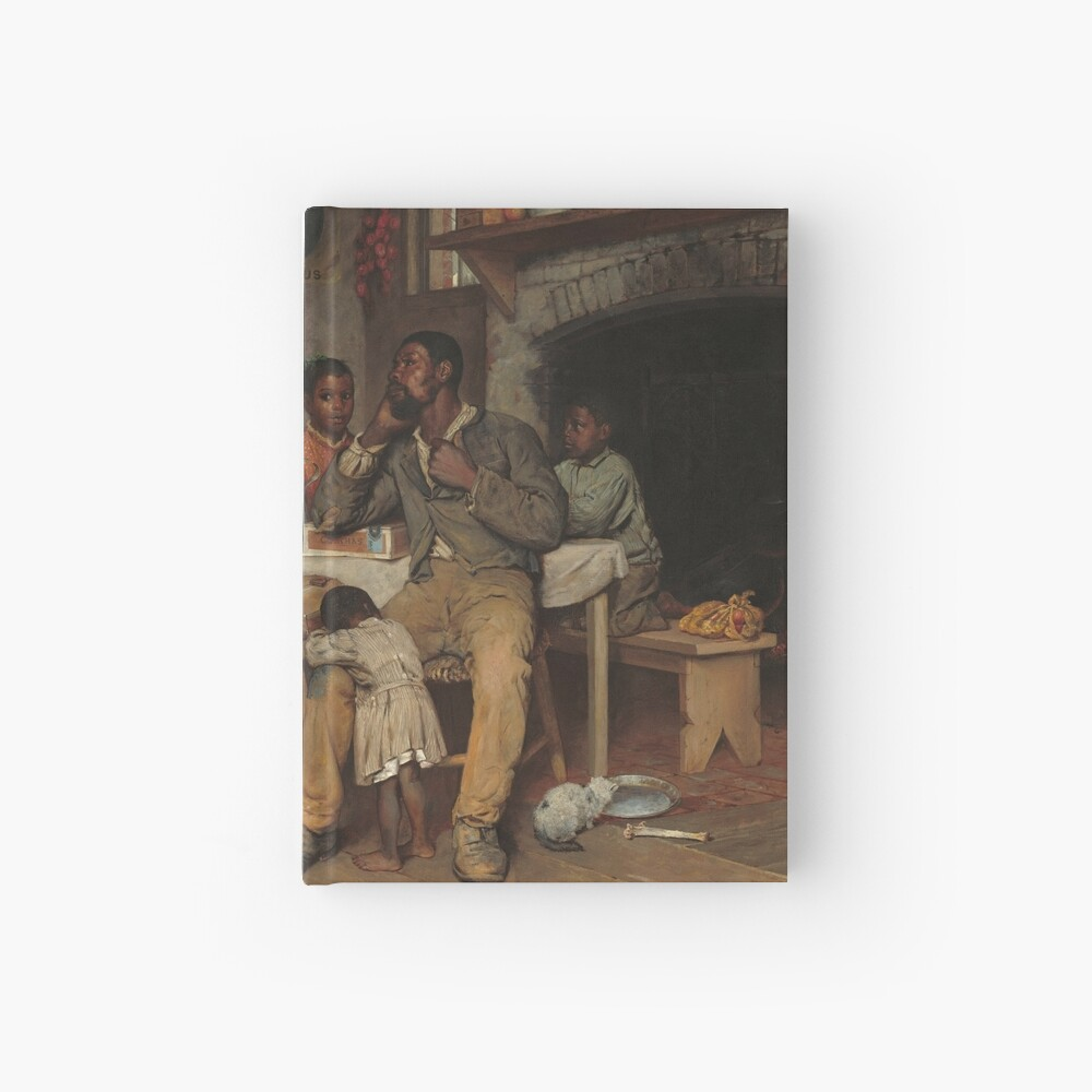 A Pastoral Visit Oil Painting by Richard Norris Brooke Hardcover Journal
