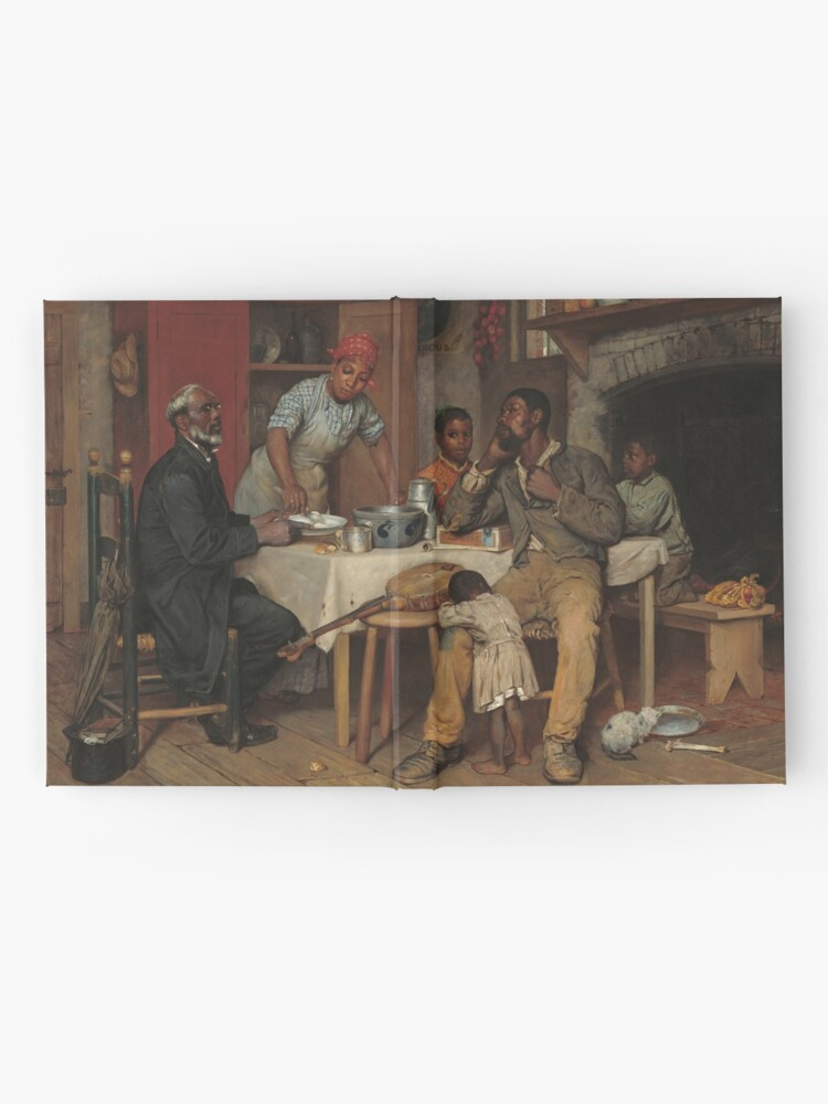 Alternate view of A Pastoral Visit Oil Painting by Richard Norris Brooke Hardcover Journal