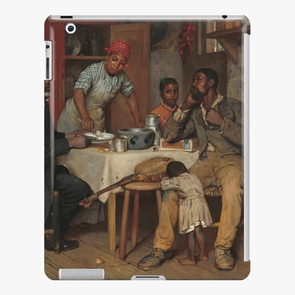 A Pastoral Visit Oil Painting by Richard Norris Brooke iPad Case & Skin
