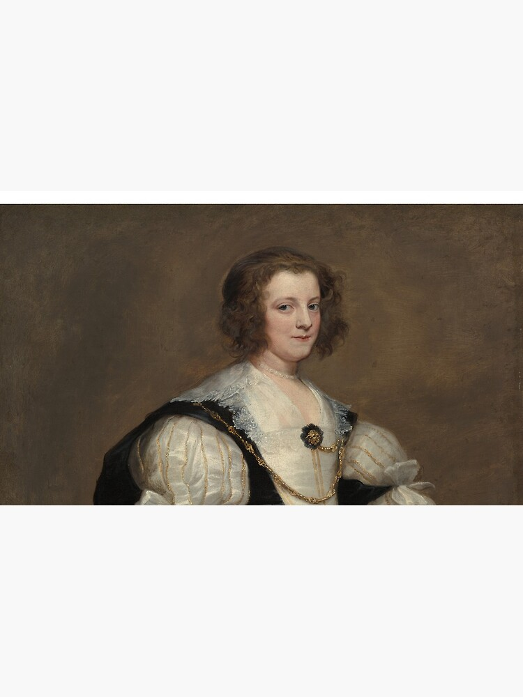 Lady with a Fan Oil Painting by Sir Anthony van Dyck by podartist