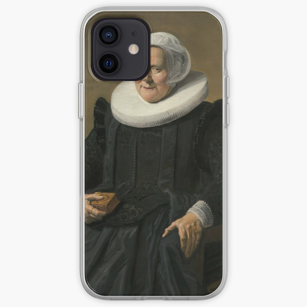 Portrait of an Elderly Oil Painting Lady by Frans Hals iPhone Case & Cover