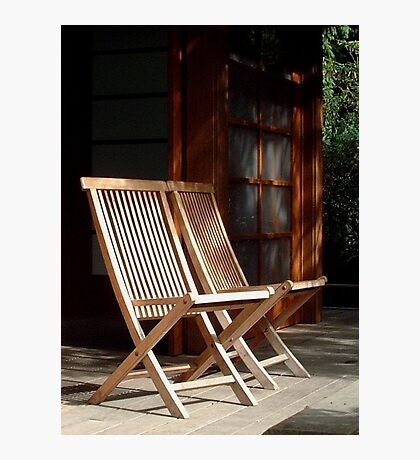 Come and sit a spell.. Photographic Print