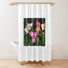 Tigridia - Pavonia ... Tiger Flowers Shower Curtain