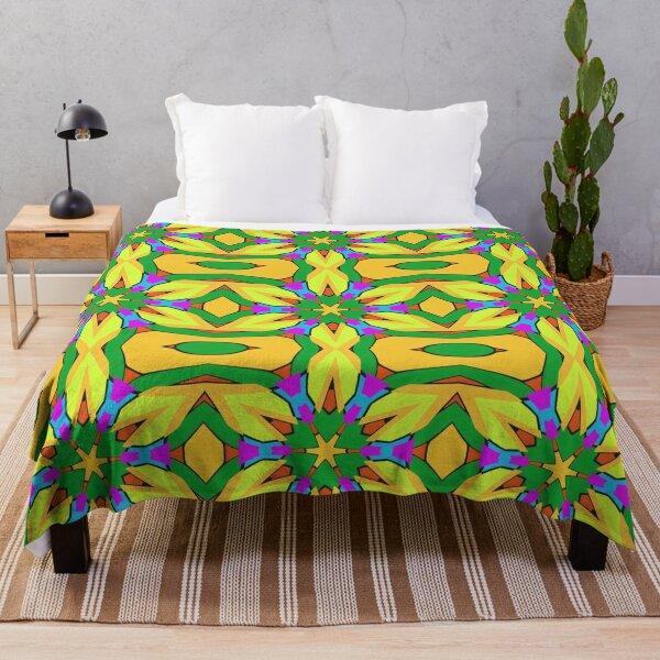 Summertime On Dream Island Throw Blanket