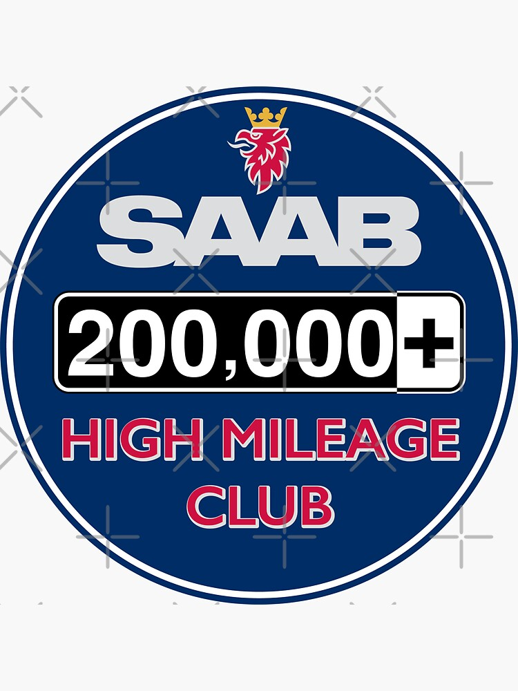 Saab High Mileage Club - 200,000+ Miles by brainthought