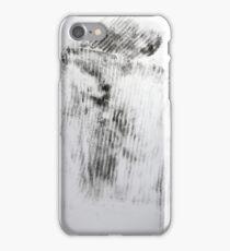Quand mon Petit Pull Noir... #2 - Monotype Empreinte iPhone Case/Skin
