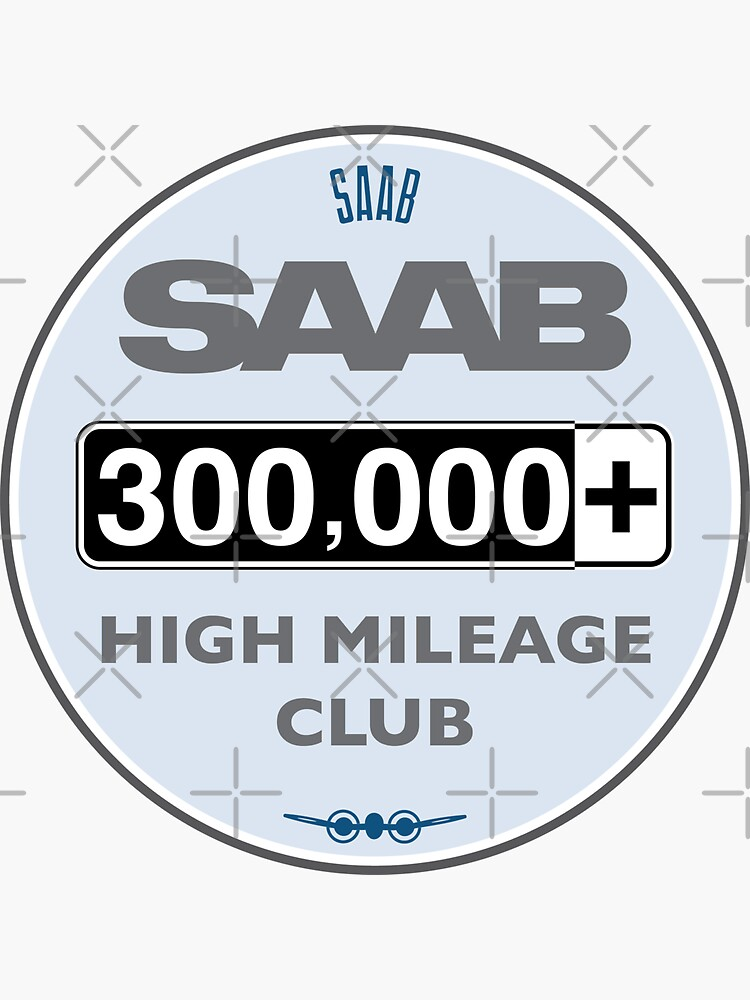 Saab High Mileage Club - 300,000+ Miles by brainthought