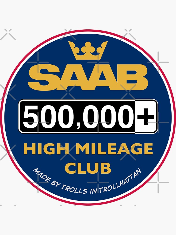 Saab High Mileage Club - 500,000+ Miles by brainthought