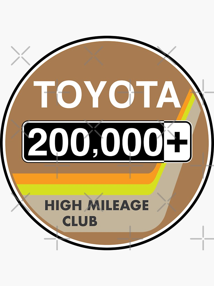 Toyota High Mileage Club - 200,000+ Miles by brainthought