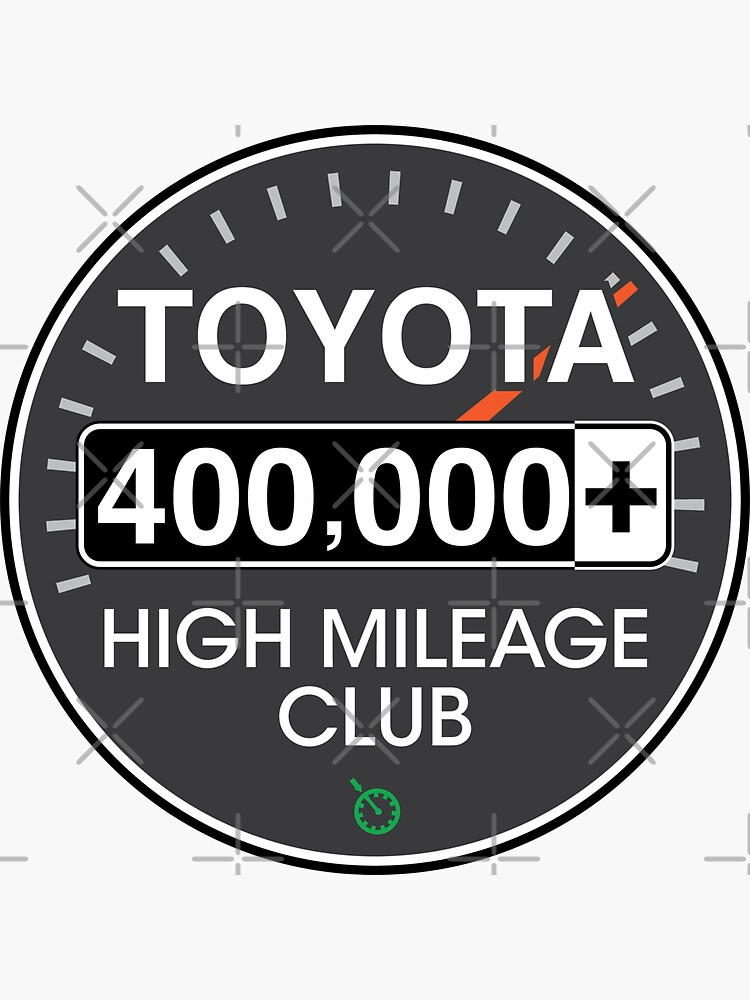 Toyota High Mileage Club - 400,000+ Miles by brainthought