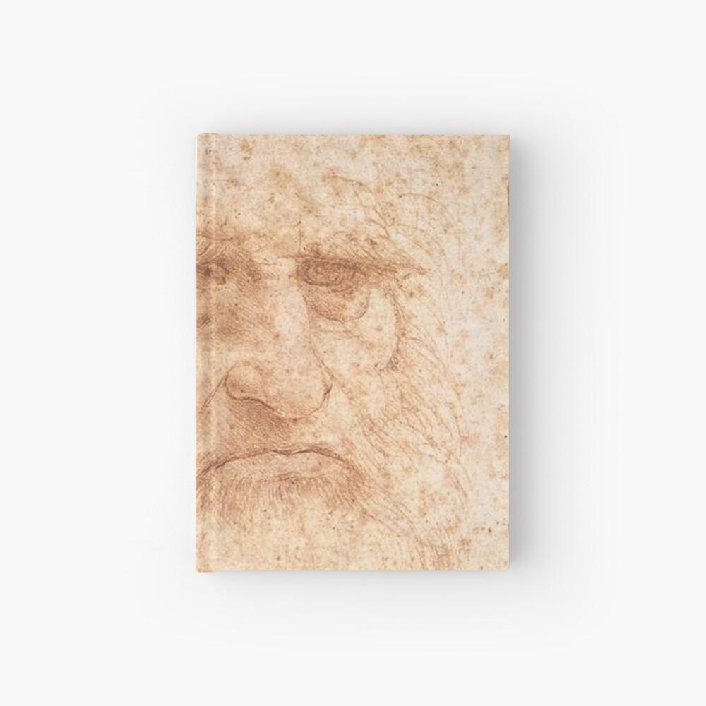 Classic Art - Leonardo da Vinci by Leonardo da Vinci Self Portrait Hardcover Journal