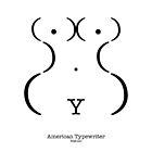 « Machine à écrire américaine » par Viktor Hertz