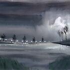 «Caminata nocturna 2» de Anil Nene