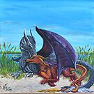Dragons on the Shore by Wendy Crouch