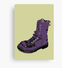 Give 'Em the Boot Canvas Print