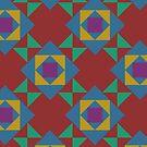 Pop Squares by BigFatArts
