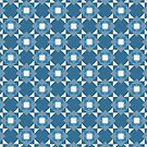 Pop Squares BLUE by BigFatArts
